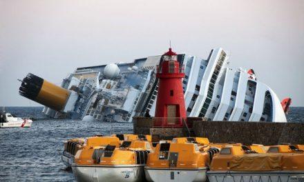 Costa Concordia, il rifiuto delle responsabilità