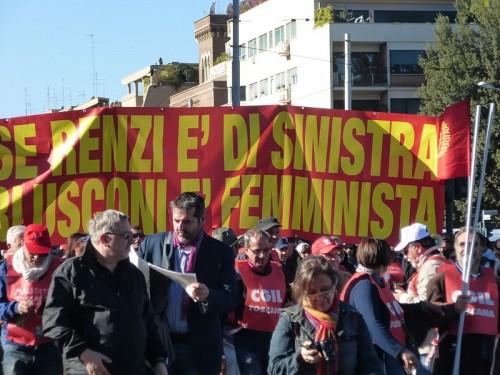 Il sindacato è criticabile, ma non da chi umilia i diritti