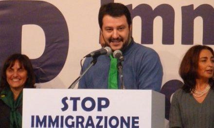 Salvini, le bugie e la strategia del nemico