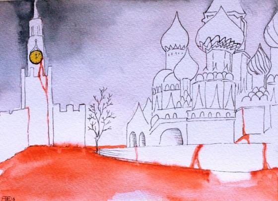 Putin e la piazza…rossa di Mosca