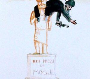 Isis contro arte