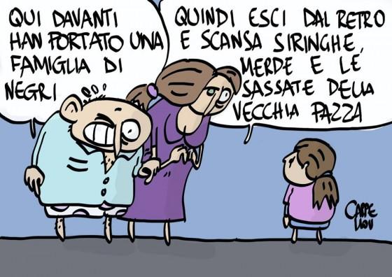 Razzisti contro profughi: meglio il vicinato italiano?!