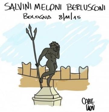 Bologna invasa e oltraggiata