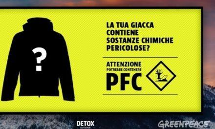 L'allerta di Greenpeace per i PFC nell'abbigliamento outdoor