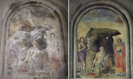 Viterbo: si conclude il restauro di un importante ciclo di affreschi