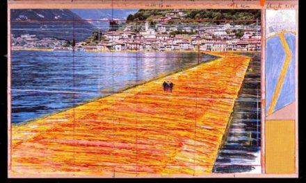 Christo camminerà a giugno sul lago d'Iseo