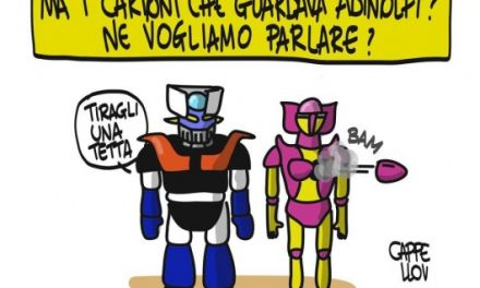 I cartoons di Adinolfi