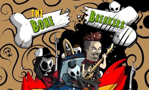 I Bonebreakers: un composto di puro rock 'n' roll