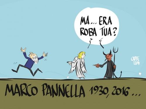 Marco Pannella, uomo libero. Sempre.