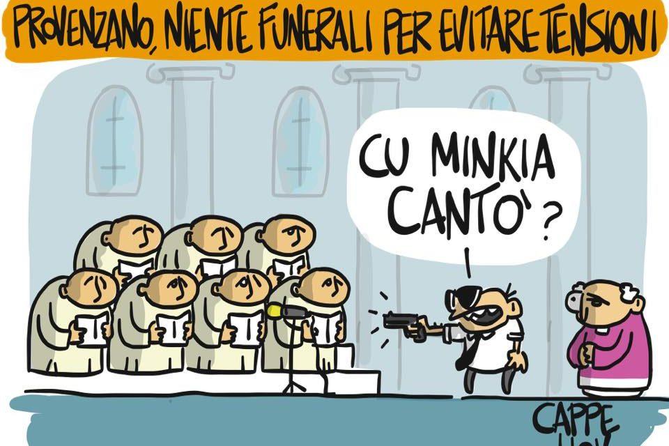 I funerali di Bernardo Provenzano
