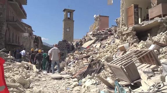 Il terremoto e il recupero dei beni culturali
