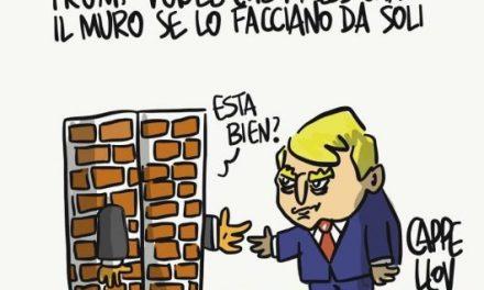Trump, il muro e il Messico