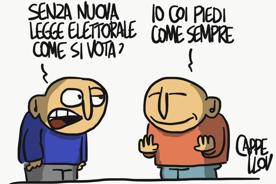 Dubbi e certezze elettorali…