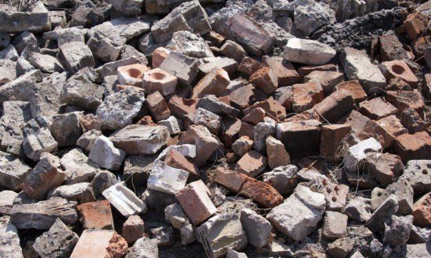 Rifiuti edili: economia circolare contro gli sprechi