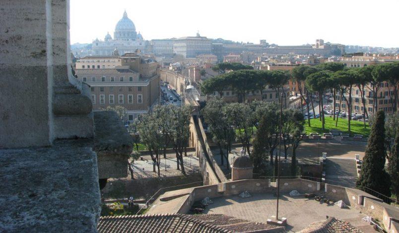 Il passetto di Borgo a Castel Sant'Angelo