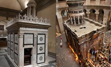 Gerusalemme a Firenze: la tomba Rucellai a San Pancrazio
