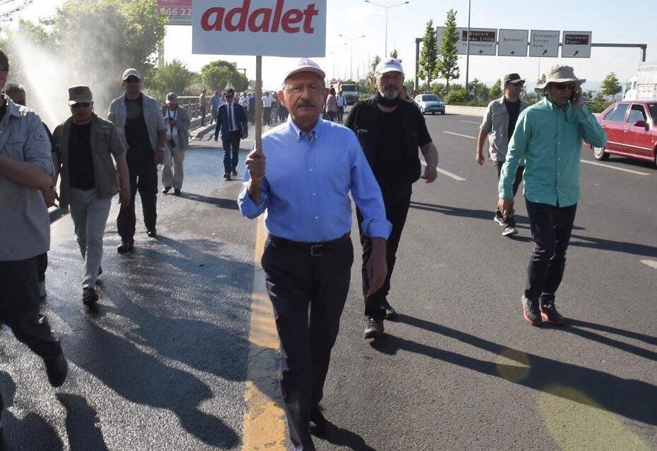"""Turchia: a circa un anno dal fallito golpe, è partita """"la Marcia della giustizia"""""""