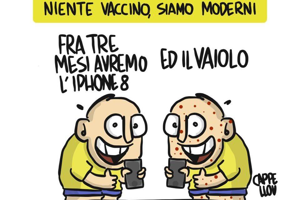 Tempi moderni…e vaccini