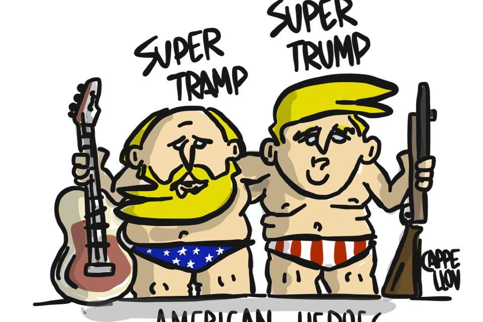 Trump, the rock and the rocket