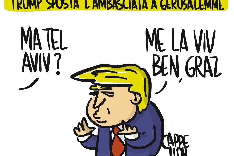 Israele: i malintesi di Trump