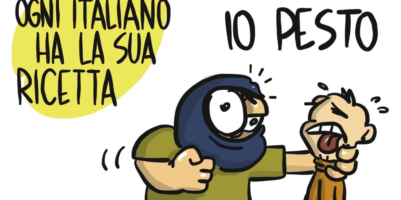 La ricetta politica degli italiani