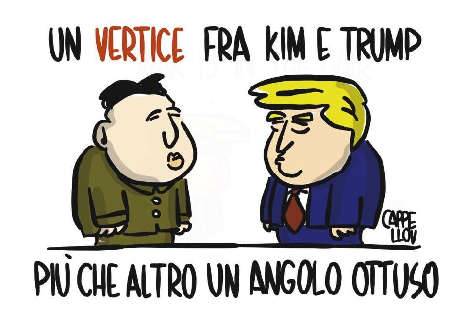 Kim, Trump e le…geometrie mondiali