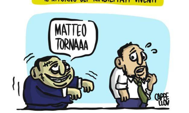 Thriller politici: il ritorno di Berlusconi