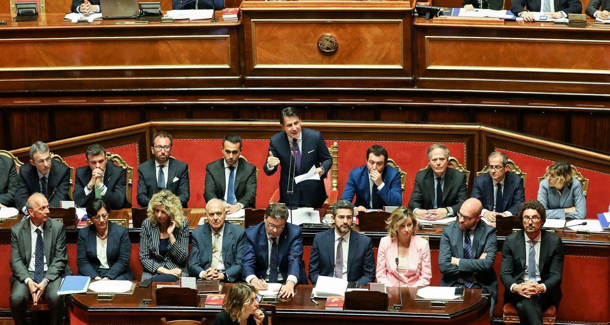 Di mafia, retorica e coerenza: il discorso di Conte