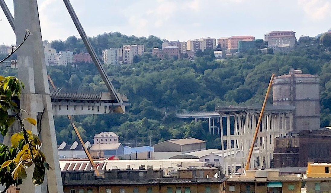 Ponte Morandi: Legambiente propone soluzioni per corretto smaltimento