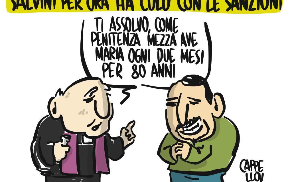 Salvini e gli effetti della sentenza sui fondi Lega