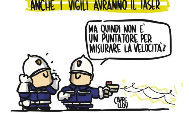 Decreto Salvini: i vigili urbani e l'incognita taser…