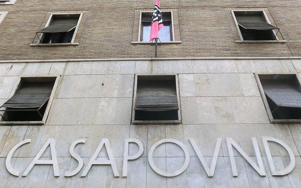 Casapound e la sua sede: i fascisti abusivi ci costano troppo