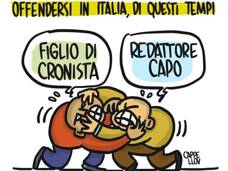 Essere giornalisti nell'Italia a 5 stelle…