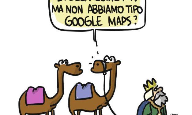 Se il Natale avvenisse ai tempi di Google…