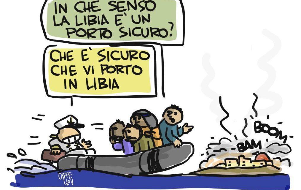 I migranti, la Libia e il ghigno crudele di Italia ed Europa