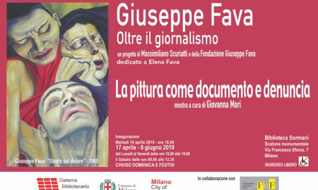 A Milano s'inaugura la mostra su Pippo Fava, un instancabile intellettuale