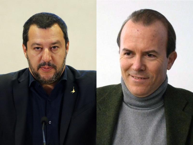 L'affaire Savoini, l'ultima carta del castello di Salvini