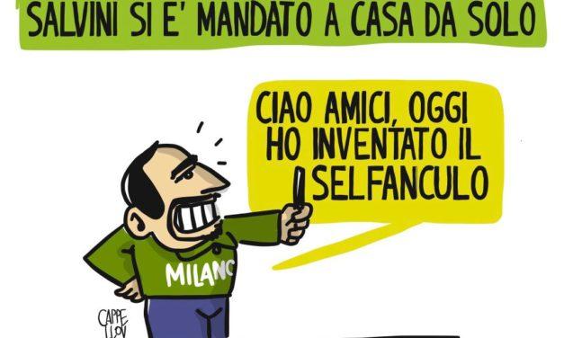 Le grandi invenzioni di Matteo Salvini