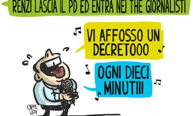 Renzi, il PD e la scissione di Paradiso…