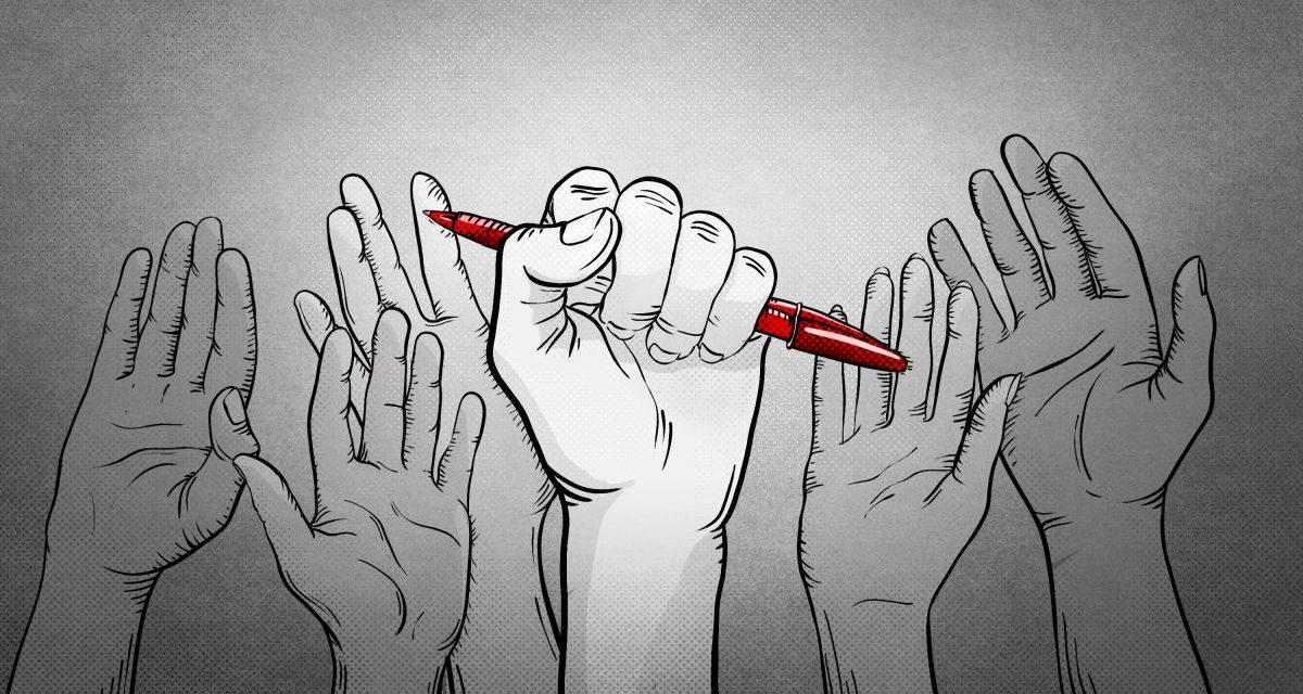 Contro i giornalisti un pericoloso vento d'odio soffiato da cattivi maestri