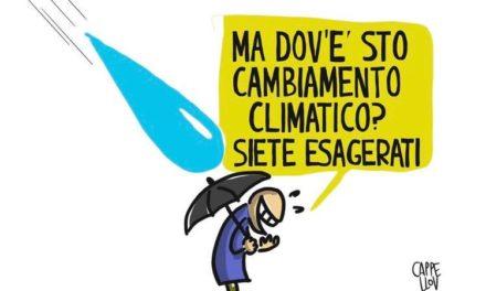 Cambiamento climatico? Ma no dai non esagerate…