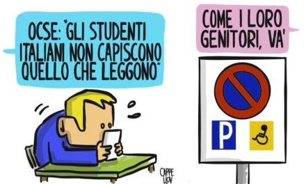 L'OCSE, gli studenti italiani e…i loro genitori