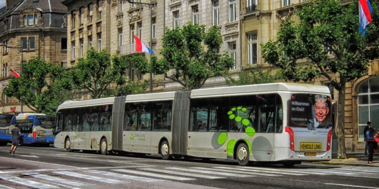 Mobilità e ambiente: in Lussemburgo mezzi pubblici gratis