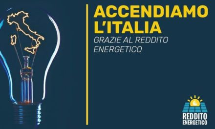 Reddito Energetico, misura per rilanciare il fotovoltaico e creare risparmio