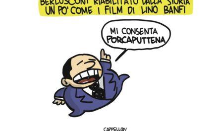 Commedia all'italiana: la riabilitazione di Berlusconi
