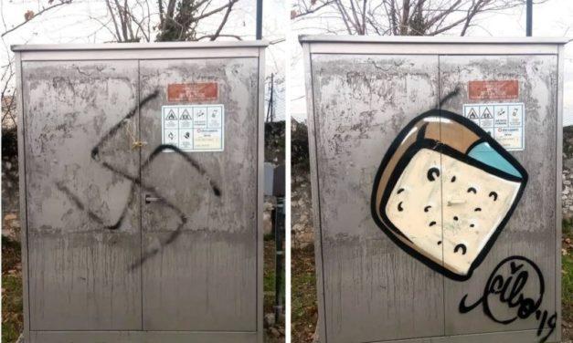I simboli d'odio si combattono con del buon… Cibo
