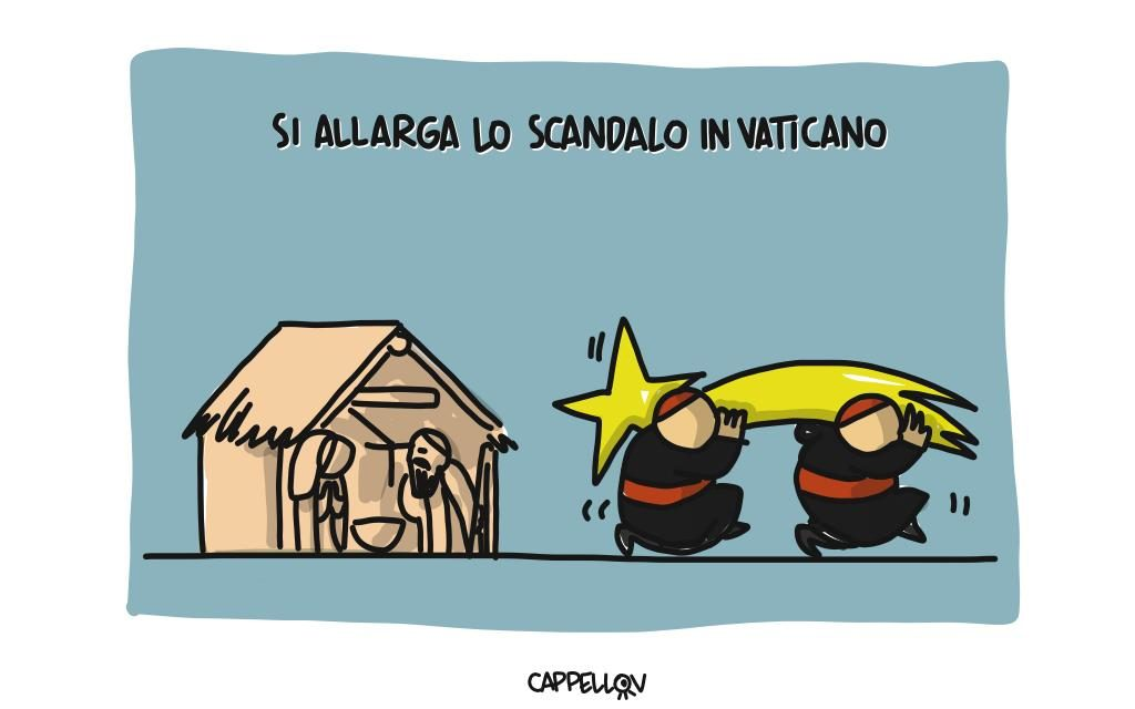 Si allarga lo scandalo in Vaticano…