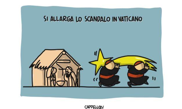 Si allarga lo scandalo in Vaticano…