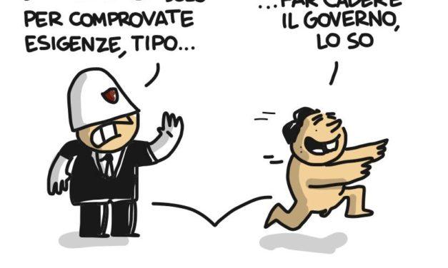 """L'Italia, il Covid e le """"comprovate esigenze"""" di Matteo Renzi"""