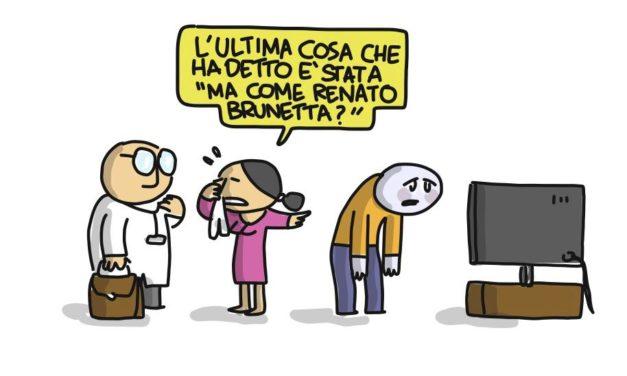 Brunetta shocking